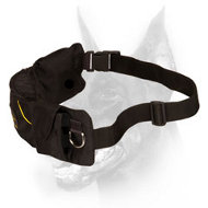 'Swift Reward' Doberman Dog Nylon Training Pouch with Pockets