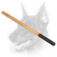 Doberman Dog Bamboo Stick for Schutzhund training