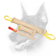 Doberman Dog Jute Bite Tugs Set - More Than 15% Saving