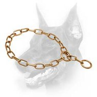 Doberman Dog Choke Chain Curogan Collar