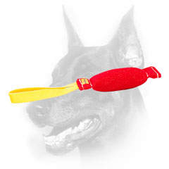 Doberman Dog Bite Tug Made of Safe and Super Strong French Linen