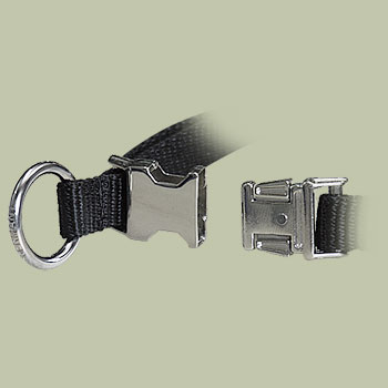 Nylon Quick-Release Training Pinch Collar for Doberman