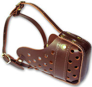 Similar Like Gappay Leather Muzzle for Doberman