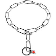 Found Fur Saver Stainless Steel Choke Chain Collar for Doberman