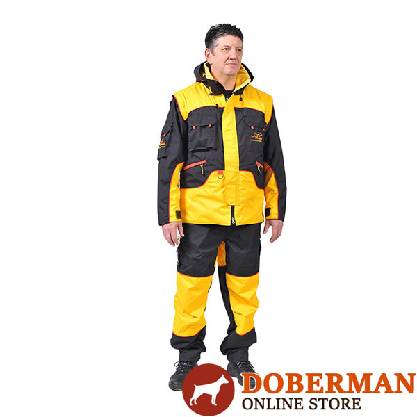 Professional Training Suit of Waterproof Membrane Material