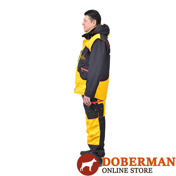 Ultimate in Comfort and Protection Dog Training Bite Suit for Safe Training