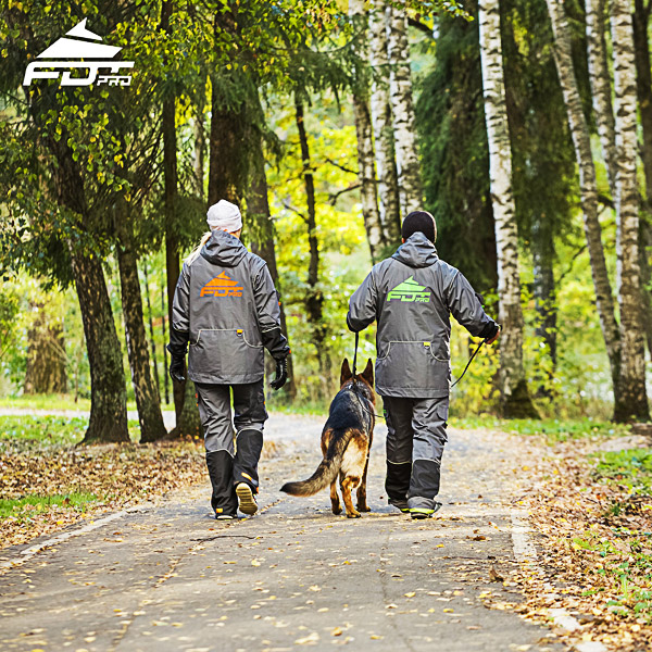 Professional Dog Training Jacket of Best Quality for Any Weather Conditions