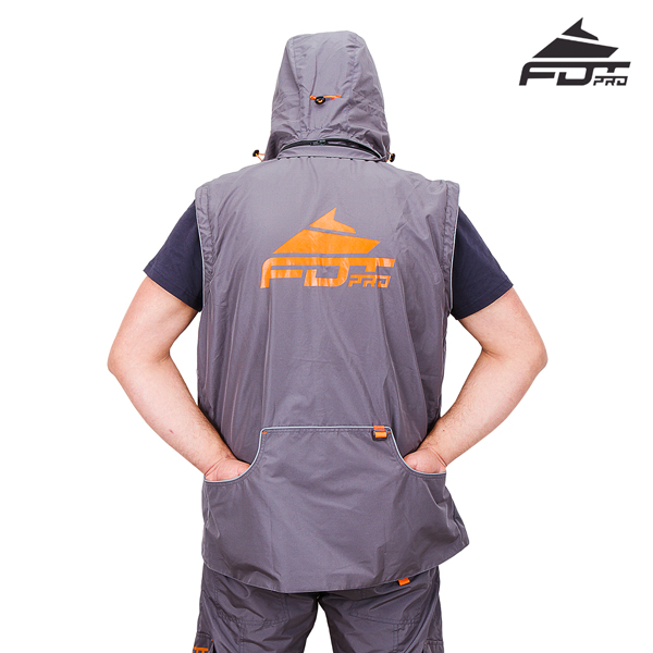 Top Rate Dog Training Suit Grey Color from FDT Wear