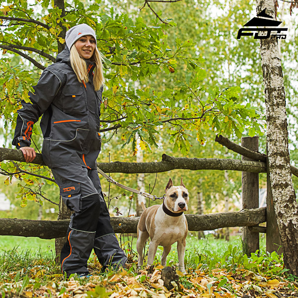 Men and Women Design Pants with Comfortable Back Pockets for Active Dog Trainers