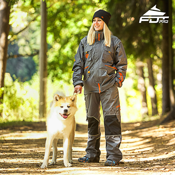 Unisex Design Dog Training Jacket of Top Quality Materials