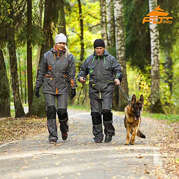 Any Weather Reliable Dog Tracking Suit for Men and Women