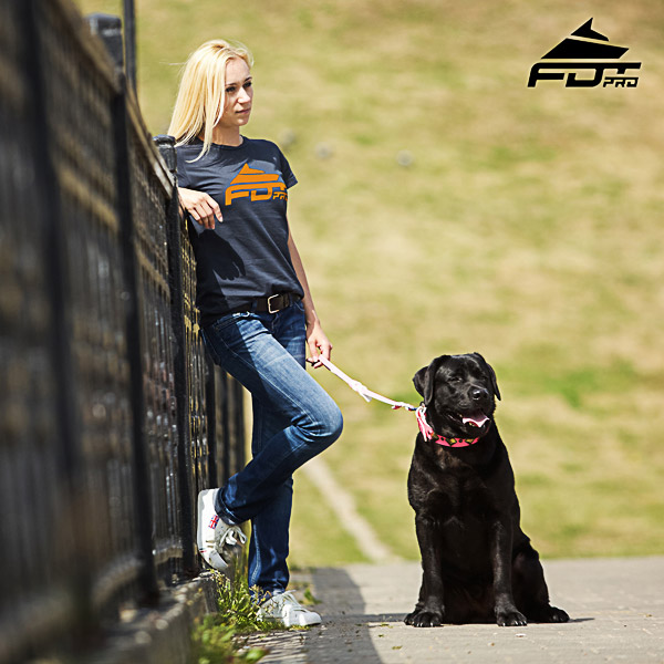Women T-shirt of Reliable Cotton for Dog Trainers