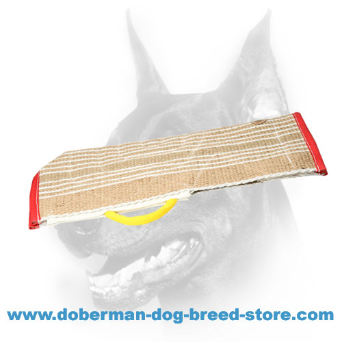 Doberman dog training sleeve cover, suits any sleeve