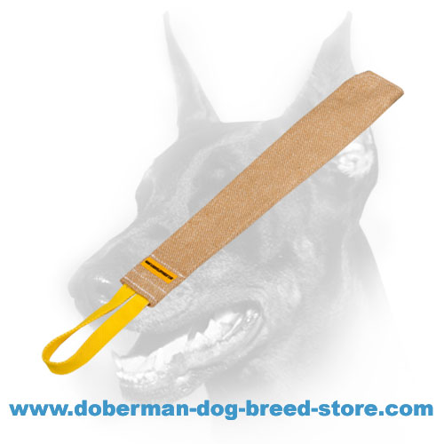 Doberman Dog jute rag for Schutzhund training