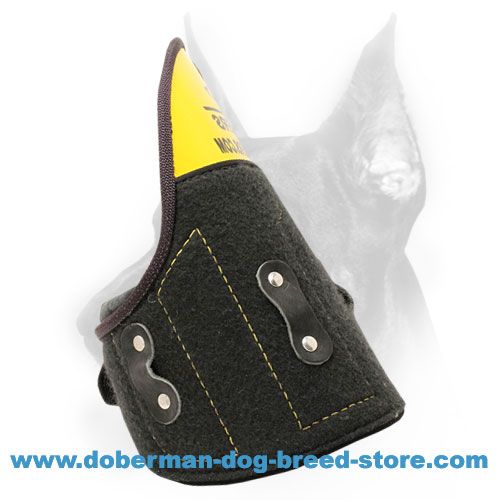 Doberman dog training Shoulder Protector of Strong materials