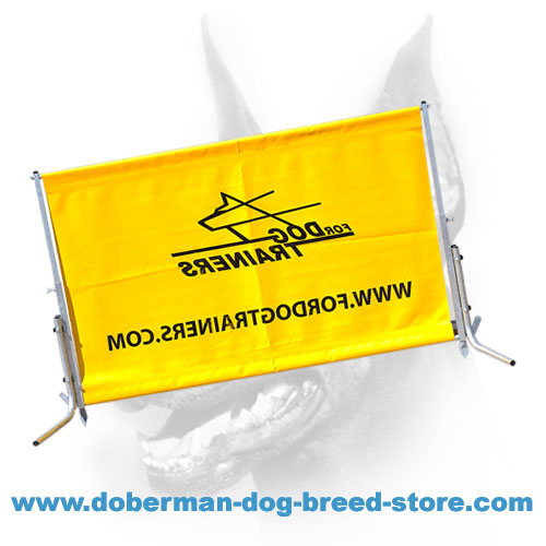 Doberman Dog Training Light-weight Design Hurdle Jump