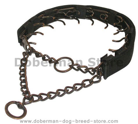 Training Dog Pinch Collar Herm Sprenger Prong Collar-3.9 mm25''