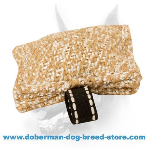 New Jute Bite Tug with The Only Handle for Doberman Training