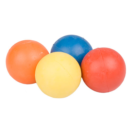 Dog Training Crazy Color Rubber Ball - te300