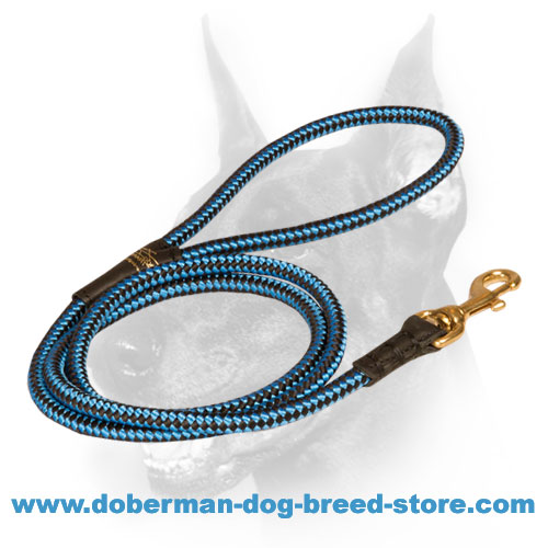 Heavy-duty Doberman dog Cord for tracking
