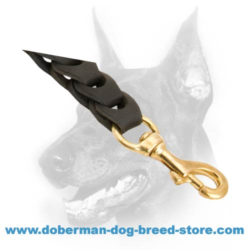 Extremely strong leather dog leash