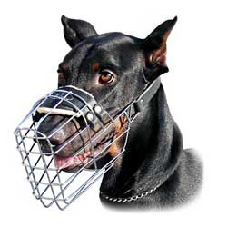 Super ventilation dog muzzle